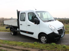 2016 (16 PLATE) VAUXHALL MOVANO R3500 L3H1 CDTI TIPPER DOUBLE CAB