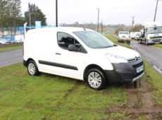 2017 (17PLATE) CITREON BERLINGO 625 ENTERPRISE BLUE HDI