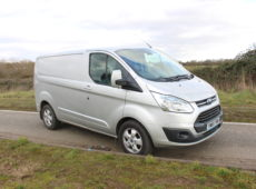 2016 (65 PLATE) FORD TRANSIT CUSTOM LIMITED 125 PS