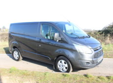 2015 (65 PLATE) FORD TRANSIT CUSTOM 290 LTD E-TECH
