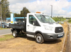 2015 (15PLATE) FORD TRANSIT 350 TWIN WHEEL TIPPER