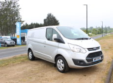 2017 (17 PLATE) FORD TRANSIT CUSTOM 290 LIMITED EURO 6
