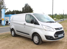 2017 (17 PLATE) FORD TRANSIT CUSTOM 290 TREND EURO 6