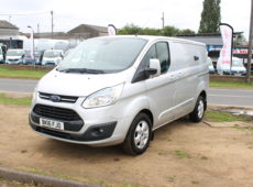2016 (16 PLATE) FORD TRANSIT CUSTOM 290 LIMITED E-TECH