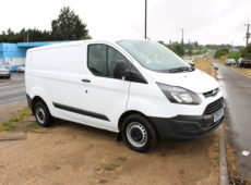 2017 (17 PLATE) FORD TRANSIT CUSTOM 290 EURO 6