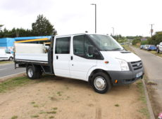 2011 (60 PLATE) FORD TRANSIT 100 T350L DOUBLE CAB RWD FLATBED