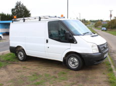 2013 FORD TRANSIT 100 T300 FWD PANEL VAN