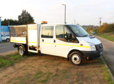 2012 (62 PLATE) FORD TRANSIT125 T350 RWD DOUBLE CAB TIPPER
