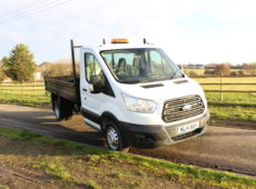 2014 (14 PLATE) FORD TRANSIT 350 TWIN WHEEL TIPPER