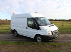 2013 (13 PLATE) FORD TRANSIT 100 T280 FWD SHORT WHEEL BASE HIGH ROOF