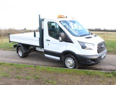 2018 (18 PLATE) FORD TRANSIT 350 ONE STOP TIPPER TWIN WHEEL