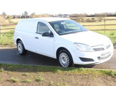 2012 (62 PLATE) ASTRA CLUB ECOFLEX CAR DERIVED VAN