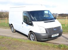 2013 (13 PLATE) FORD TRANSIT P/V 300 HIGH ROOF