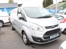 2017 (17 PLATE ) FORD TRANSIT CUSTOM 290 LIMITED