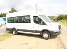 !!!! NO ADMIN FEES !!!! 2014 (64 PLATE ) FORD TRANSIT 460H/R 17 SEATER MINI BUS