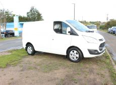 2018 (67 PLATE) FORD TRANSIT CUSTOM 290 LIMITED