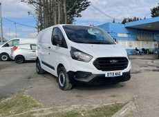 !!!! NO ADMIN FEES !!!! 2018 (18 PLATE) FORD TRANSIT CUSTOM 300 BASE