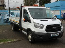 !!!! NO ADMIN FEES !!!! 2018 (18 PLATE) FORD TRANSIT DROPSIDE L5 EURO 6 14FT BED