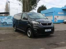 !!!! NO ADMIN FEES !!!! 2018 (68 PLATE) PEUGEOT EXPERT EURO 6 AIR CON TWIN SIDE LOADING DOORS