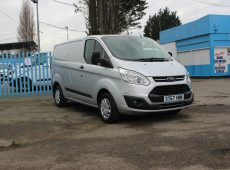 !!!! NO ADMINS FEE !!!! 2017 (67 PLATE) FORD TRANSIT CUSTOM EURO 6