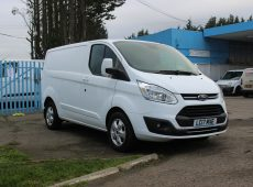 !!!! NO ADMIN FEES !!!! 2017 (67 PLATE) FORD TRANSIT CUSTOM LIMITED AIR CON EURO 6