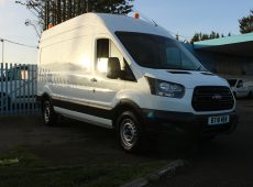 !!!! NO ADMIN FEES !!!! 2018 (18 PLATE) FORD TRANSIT 350 LONG WHEEL BASE HIGH ROOF 1 OWNER