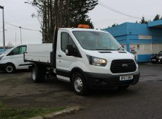 !!!! NO ADMIN FEES !!!! 2017 (67 PLATE) FORD TRANSIT TIPPER EURO 6
