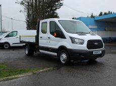 !!!! NO ADMIN FEES !!!! 2018 (18 PLATE) FORD TRANSIT TIPPER EURO 6 DOUBLE CAB