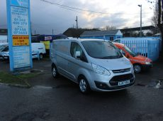 2017 (67 PLATE) FORD TRANSIT CUSTOM 270 LIMITED EURO 6