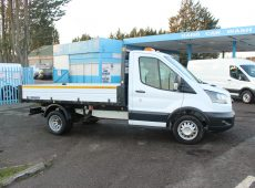2018 (18 PLATE) FORD TRANSIT SINGLE CAB TIPPER EURO 6