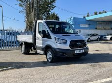 !!!! NO ADMIN FEES !!!! 2018 (18 PLATE) FORD TRANSIT TIPPER 350 EURO 6 TWIN REAR WHEEL