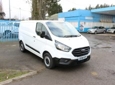 !!!! NO ADMIN FEES !!!! 2018 (18 PLATE) FORD TRANSIT CUSTOM 300 EURO 6 1 OWNER