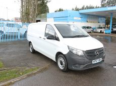 !!!! NO ADMIN FEES !!!! 2017 (17 PLATE) MERCEDES-BENZ VITO 111CDI LONG WHEEL BASE