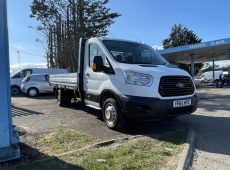 2015 (65 PLATE) FORD TRANSIT 350 DROPSIDE FULL SERVICE HISTORY MULTI FUNCTION STEERING CONTROLS