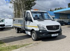 !!!! NO ADMIN FEES !!!! 2017 (17 PLATE)  SPRINTER 314CDI EURO 6 DROPSIDE FLATBED CRUISE CONTROL 1 OWNER
