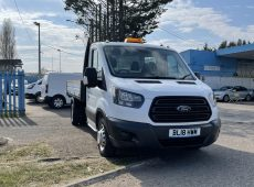 2018 (18 PLATE) FORD TRANSIT 350 TIPPER EURO 6 NEW ENGINE RECENTLY FITTED