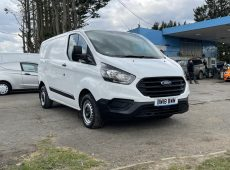 2018 (18 PLATE) FORD TRANSIT CUSTOM 300 1 OWNER EURO 6