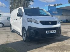 2018 (18 PLATE) PEUGEOT EXPERT BLUE HDI PROFESSIONAL EURO 6 AIR CON CRUSIE CONTROL 1 OWNER