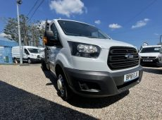 2018 (18 PLATE) FORD TRANSIT 350 FLATBED EURO 6