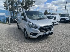 2018 (68 PLATE) FORD TRANSIT CUSTOM EURO 6 1 OWNER AIR CON