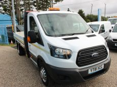 2018 (18 PLATE) FORD TRANSIT DROPSIDE/FLATBED
