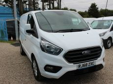 2019 (68 PLATE) FORD TRANSIT CUSTOM 280 LIMITED EURO 6