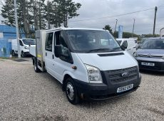 2012 (62 PLATE) FORD TRANSIT 125 T350 RWD DOUBLE CAB TIPPER NO VAT