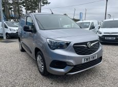 2019 (19 PLATE) VAUXHALL COMBO 2300 SPORTIVBE S/S